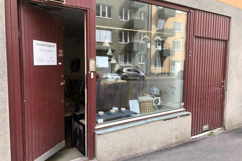 Japansk lagershop i Stocholm