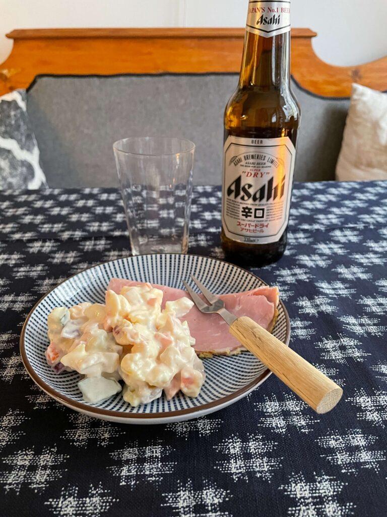 Japansk potatissallad